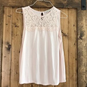 Loft Pretty Sleeveless Top